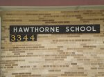 Hawthorne-sign