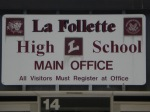 La Follette-sign