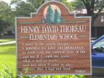 Thoreau-sign
